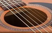 picture of fret  - a picture of an acoustic guitar  - JPG