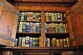 Medieval Bookshelf poster