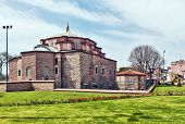 stock photo of constantinople  - Little Hagia Sophia is a former Eastern Orthodox church dedicated to Saints Sergius and Bacchus in Constantinople converted into a mosque during the Ottoman Empire - JPG