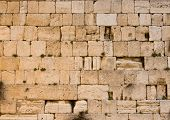 picture of tora  - the Western Wall in the old city of jerusalem - JPG
