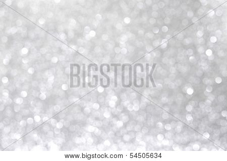 Abstract shiny bright glitter silver background