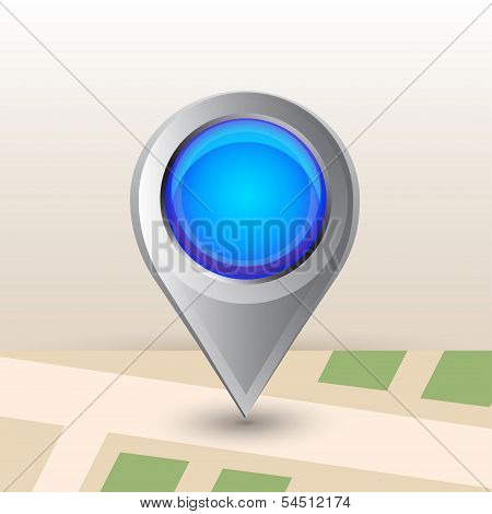 Big map pointer icon