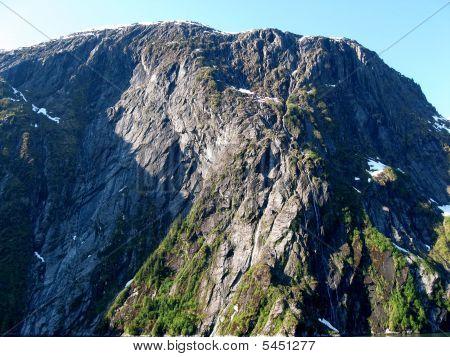 Tracy Arm Fjord Mountain