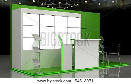 Exhibition Stand Interior - Exterior Sample Design