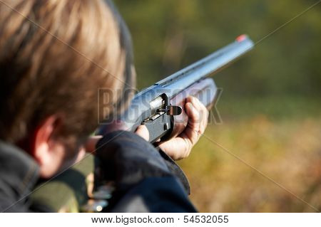 Shooter Takes Aim For Shot