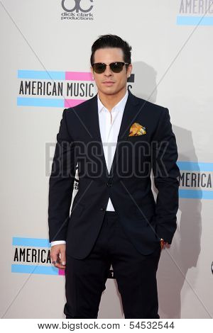 LOS ANGELES - NOV 24:  Casper Smart at the 2013 American Music Awards Arrivals at Nokia Theater on November 24, 2013 in Los Angeles, CA