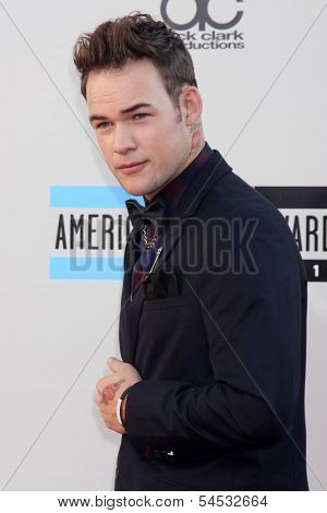LOS ANGELES - NOV 24:  James Durbin at the 2013 American Music Awards Arrivals at Nokia Theater on November 24, 2013 in Los Angeles, CA