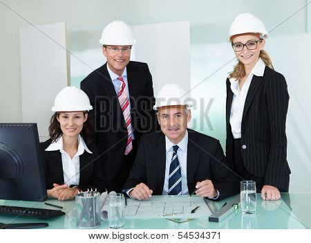 Partners In An Architectural Firm