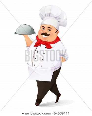 Smiling cook