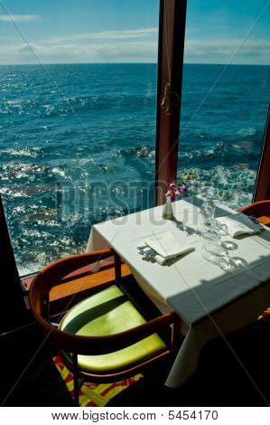 Dinning Table By The Sea