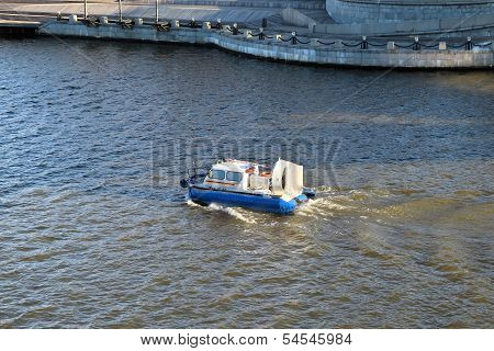 hovercraft In The Moscow River