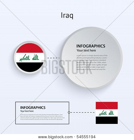 Iraq Country Set of Banners.