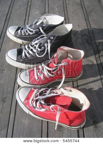 His And Her Shoes