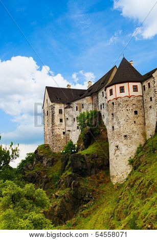 Loket Town Castle Walls And Towers