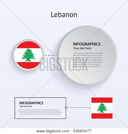 Lebanon Country Set of Banners.