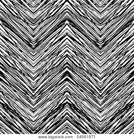 Vector seamless pattern with zigzag lines