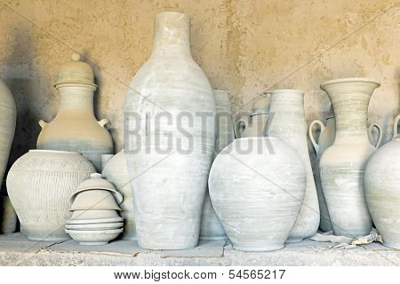 Pottery in Morocco