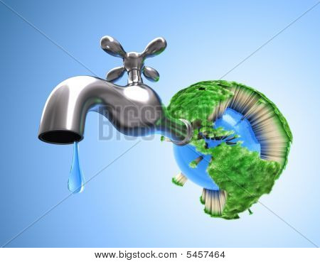 Drying The Planet Earth