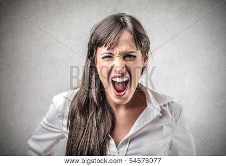 Enraged Lady