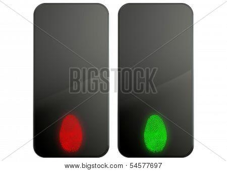 Generic Smart Phones With Fingerprint Identification