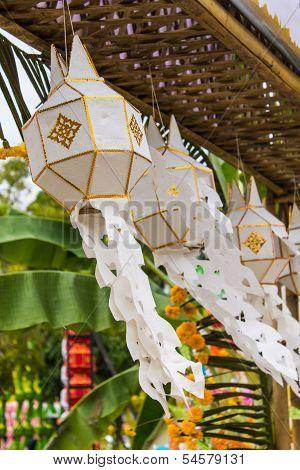 Lanna Lantern In Chiangmai Thailand