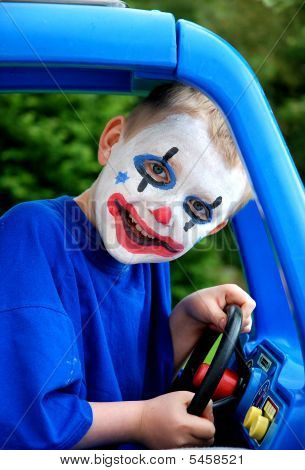 Clown Driving