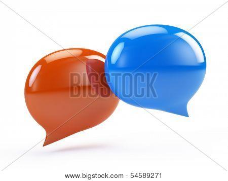Speech Bubbles, Chat Icon