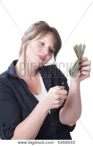 Quema dinero