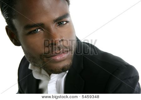 African American Young Model Portrait