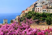 Positano Resort on the Amalfi Coast, Italy, Europe