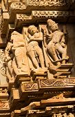 foto of khajuraho  - Human sculptures of Vishvanatha Temple - JPG
