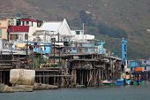 picture of lantau island  - Tai O fishing village on Lantau Island - JPG