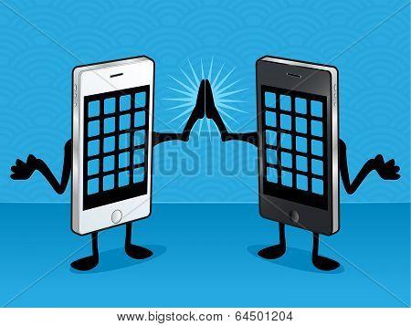 Smart Phone Friends