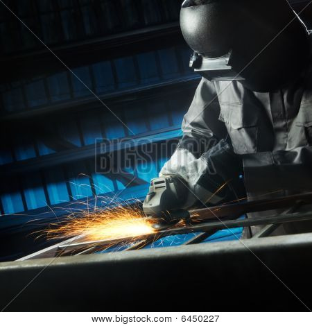 Grinding After Weld