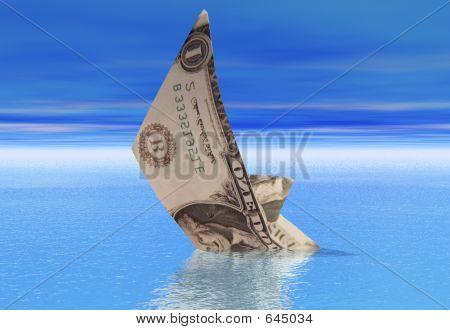 Dollar Boat Sinking