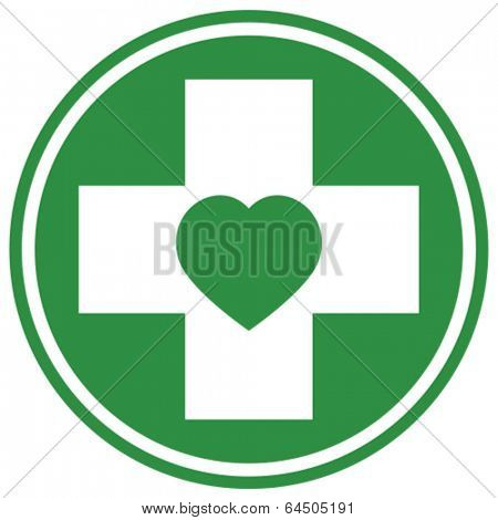 Pharmacy store vector icon