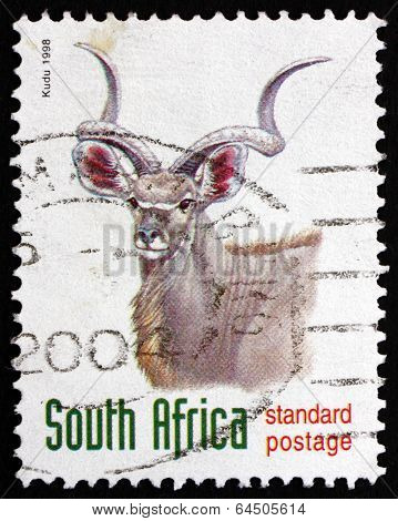 Postage Stamp South Africa 1998 Greater Kudu, Antelope