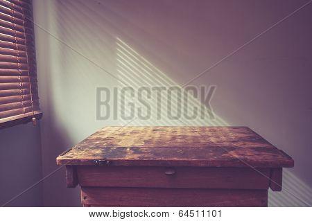 Desk By Window