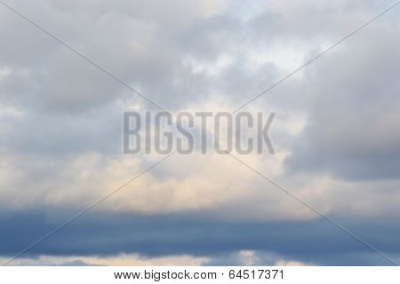 Clouds At Evening