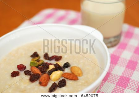 Healthy Cereal And Soya Bean Milk