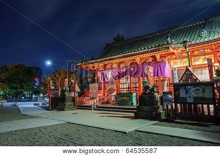 Asakusa-jinja Shrine in Tokyo