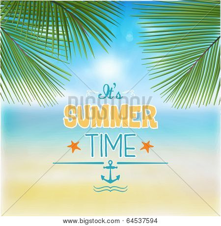 Summer Background - Illustration