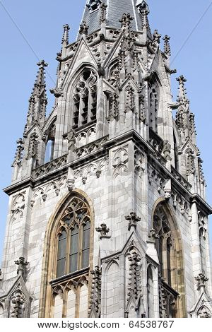 Aachen imperial cathedral at Germany