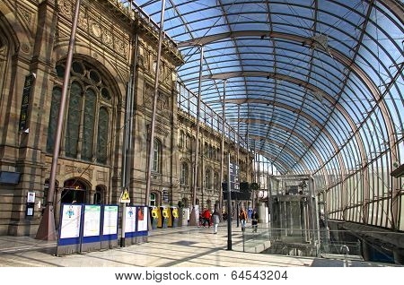 Gare De Strasbourg, The Main Railway Station Of Strasbourg City