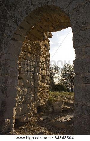 Puerta del castillo