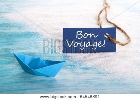 Blue Label With Bon Voyage