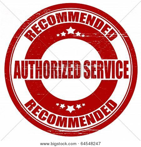 Authorized Service