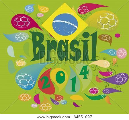 brasil 2014  the world celebrate