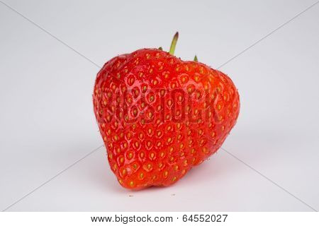 Luscious Ripe Red Fresh Strawberry