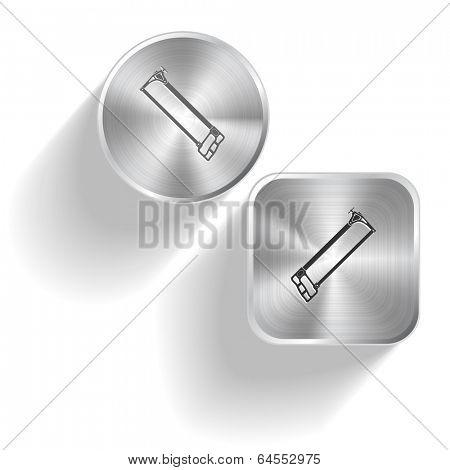 Hacksaw.set steel buttons
